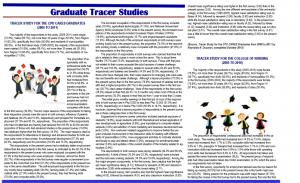Graduate Tracer Studies